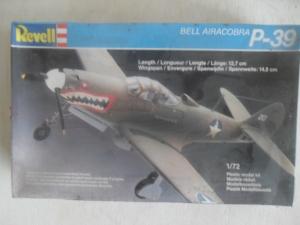 REVELL 1/72 4119 AIRACOBRA P-39