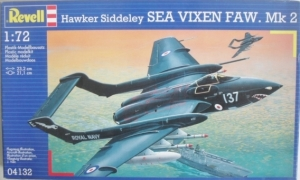 REVELL 1/72 04132 HAWKER SIDDELEY SEA VIXEN FAW. Mk 2