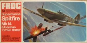 FROG 1/72 F194 SPITFIRE Mk.XIV   V-1 FLYING BOMB