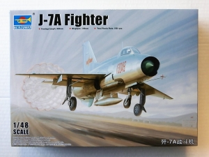TRUMPETER 1/48 02859 J-7A FIGHTER