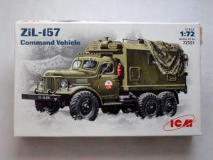 ICM 1/72 72551 ZIL-157 COMMAND