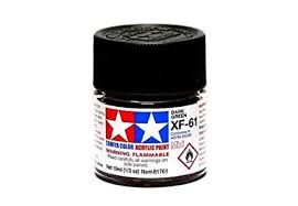 TAMIYA  81761 XF-61 DARK GREEN ACRYLIC PAINT  UK SALE ONLY