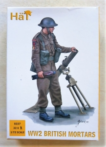 HAT INDUSTRIES 1/72 8227 WWII BRITISH MORTARS