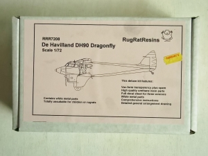 RUGRAT 1/72 7208 DE HAVILLAND DH90 DRAGONFLY