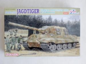 DRAGON 1/35 6493 Sd.Kfz.186 JAGDTIGER PORSCHE PRODUCTION W/ZIMMERIT