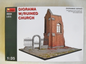 MINIART 1/35 36030 DIORAMA WITH RUINED CHURCH
