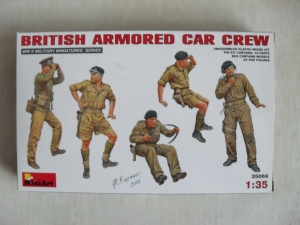 MINIART 1/35 35069 BRITISH ARMOURED CAR CREW