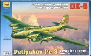 ZVEZDA 1/72 7264 PETLYAKOV Pe-8