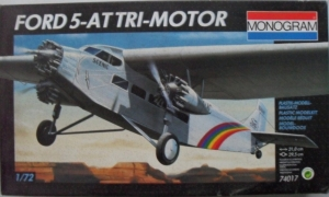 MONOGRAM 1/72 74017 FORD 5-AT TRI-MOTOR