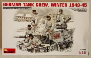 MINIART 1/35 35021 GERMAN TANK CREW WINTER 1943-45