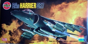 AIRFIX 1/72 04039 BAe HARRIER GR7