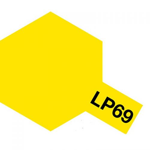 TAMIYA  82169 LP-69 CLEAR YELLOW LACQUER PAINT  UK SALE ONLY