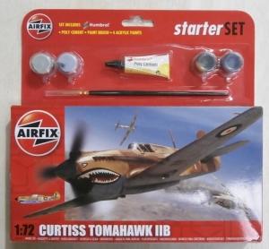 AIRFIX 1/72 55101 CURTISS TOMAHAWK IIB STARTER SET