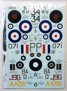 XTRADECAL 1/48 48174 VICKERS SUPERMARINE WALRUS COLLECTION