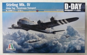 ITALERI 1/72 1350 STIRLING Mk.IV D-DAY 1944