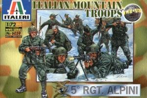 ITALERI 1/72 6059 WWII ITALIAN MOUNTAIN TROOPS