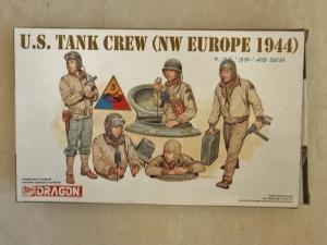 DRAGON 1/35 6054 US TANK CREW NW EUROPE 1944