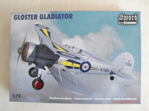 SWORD 1/72 72035 GLOSTER GLADIATOR