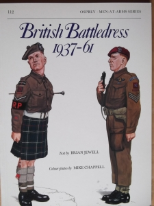OSPREY  112. BRITISH BATTLEDRESS 1937-61