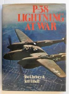 CHEAP BOOKS  ZB587 P-38 LIGHTNING AT WAR IAN ALLAN
