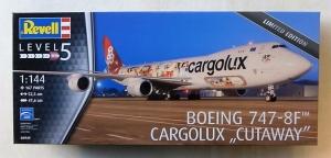 REVELL 1/144 04949 BOEING 747-8-F CARGOLUX CUTAWAY