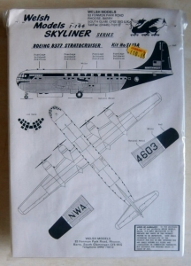 WELSH MODELS 1/144 SL13A BOEING B377 STRATOCRUISER NORTHWEST