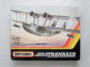 MATCHBOX 1/72 PK-601 SUPERMARINE STRANRAER