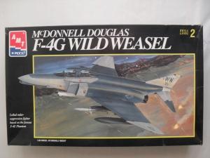 AMT 1/48 8913 McDONNELL DOUGLAS F-4G PHANTOM WILD WEASEL