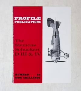 PROFILES AIRCRAFT PROFILES 086. SIEMENS SCHUCKERT D.III   IV
