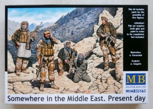 MASTERBOX 1/35 35163 SOMEWHERE IN THE MIDDLE EAST PRESENT DAY