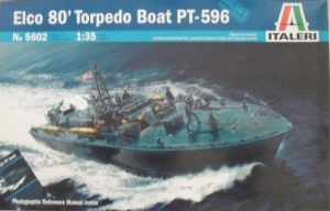 ITALERI 1/35 5602 ELCO 80 TORPEDO BOAT PT-596  UK SALE ONLY