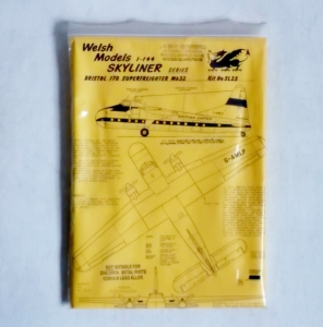 WELSH MODELS 1/144 SL25 BRISTOL 170 SUPERFREIGHTER Mk.32 BRITISH UNITED