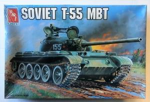 AMT 1/35 8865 SOVIET T-55 MBT