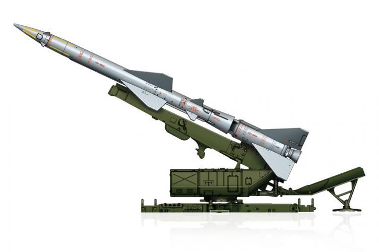 HOBBYBOSS 1/72 82933 SAM-2 MISSILE WITH LAUNCHER CABIN