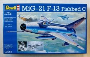 REVELL 1/72 03967 MiG-21 F-13 FISHBED C