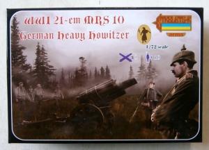 STRELETS 1/72 A013 WWI 21cm MRS 10 GERMAN HEAVY HOWITZER