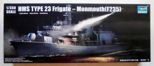 TRUMPETER 1/350 04547 HMS TYPE 23 FRIGATE - MONMOUTH  F235