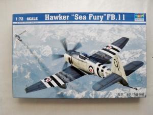TRUMPETER 1/72 01631 HAWKER SEA FURY FB.II