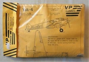 VP CANADA 1/72 29 YAK-4