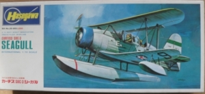 HASEGAWA 1/72 JS-051 CURTISS SOC-3 SEAGULL FLOATS