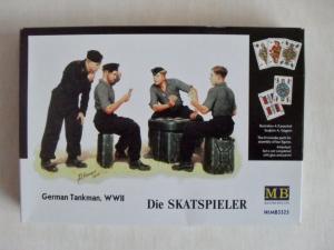 MASTERBOX 1/35 3525 SKATSPIELER GERMAN TANKMAN WWII