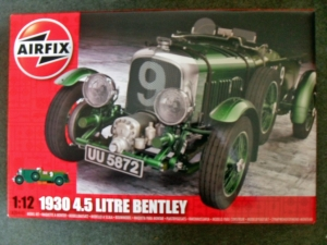 AIRFIX 1/12 20440 1930 4.5 LITRE BENTLEY  UK SALE ONLY