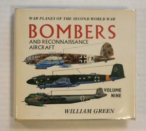 CHEAP BOOKS  ZB692 WAR PLANES OF THE SECOND WORLD WAR BOMBERS AND RECONNAISSANCE AIRCRAFT VOLUME NINE