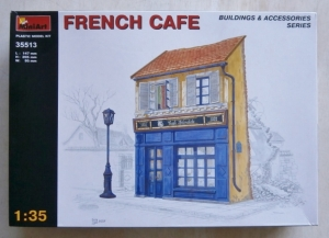 MINIART 1/35 35513 FRENCH CAFE