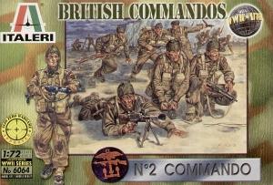 ITALERI 1/72 6064 WWII BRITISH COMMANDOS