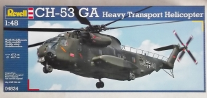 REVELL 1/48 04834 CH-53 GA HEAVY TRANSPORT HELICOPTER