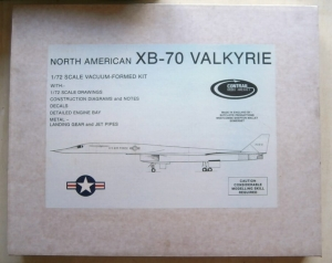 CONTRAIL 1/72 XB-70 VALKYRIE  UK SALE ONLY