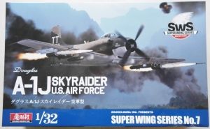 ZOUKEI-MURA 1/32 SUPER WING SERIES 7 A-1J SKYRAIDER US AIRFORCE  UK SALE ONLY