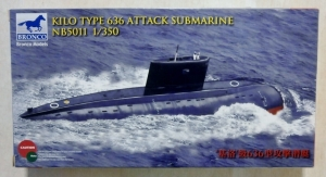 BRONCO 1/350 5011 KILO TYPE 636 ATTACK SUBMARINE
