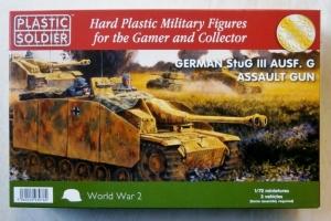 PLASTIC SOLDIER 1/72 20008 GERMAN StuG III Ausf.G ASSAULT GUN